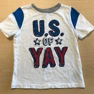 Old Navy red, white, blue 3T T-shirt